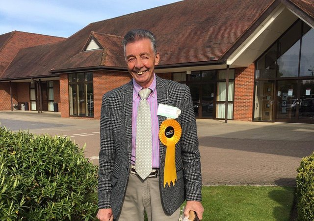 Paul Holbrook has been elected to Wealden District Council for Hailsham North