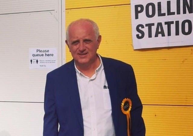 Steve Murphy, new Lib Dem county councillor for Hailsham Market