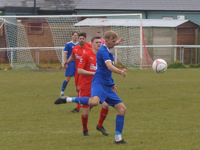 Action from Seaford's semi-final against Billingshurst / Picture: Andrew Hazelden
