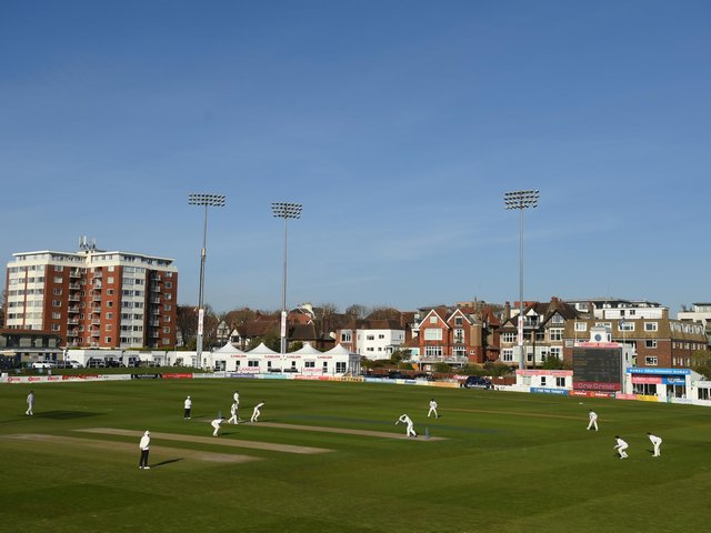 The 1st Central County Ground, Hove.