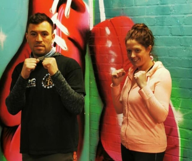 Glove Up For Good co-founders Sam Buchanan and Hannah. SUS-211105-153624001