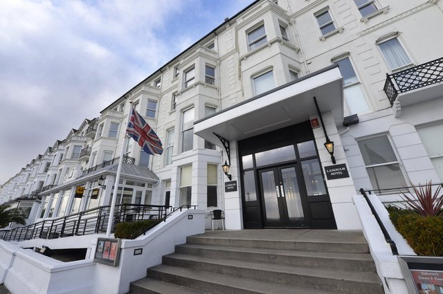 Langham Hotel, Eastbourne (Photo by Jon Rigby) SUS-180115-092811008