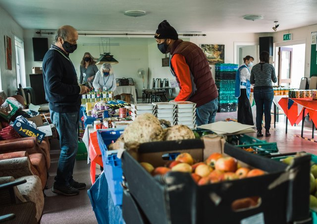 The Peacehaven Community Supermarket has been running for eight weeks