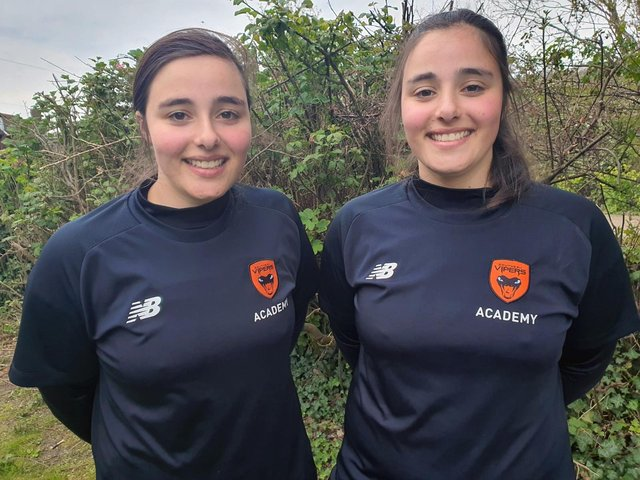 Mary and Millie are off to the Southern Vipers academy