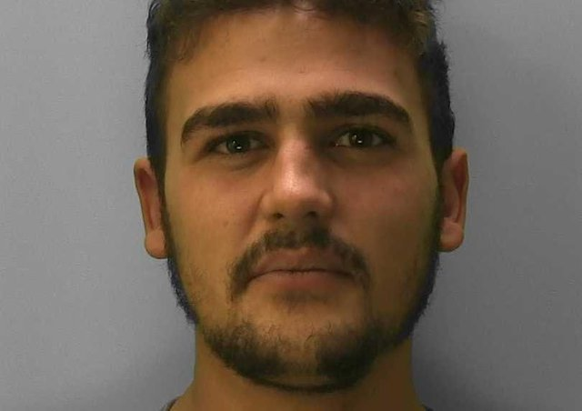 Harry Berry-Hill from Newhaven has been jailed