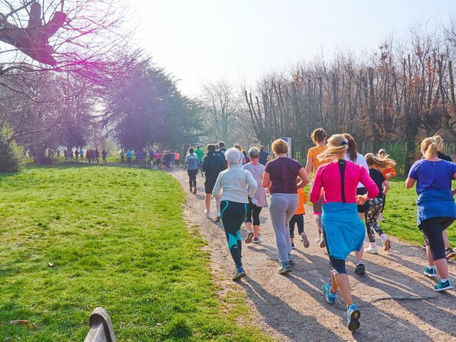 parkruns takes place all across the country