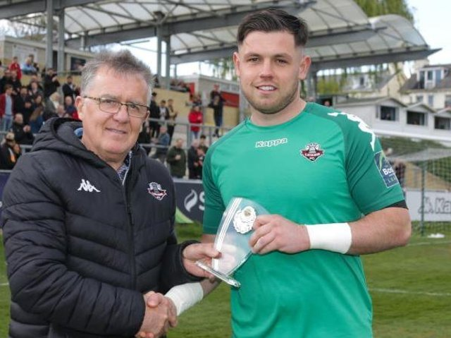Former Player of the Year Lewis Carey has rejoined Lewes. Picture courtesy of Lewes Football Club/James Boyes