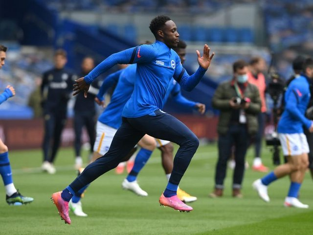 Brighton striker Danny Welbeck could have a vital role against West Ham at the Amex Stadium