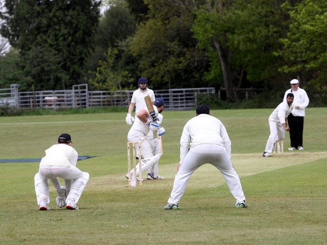 Action from Rottingdean's four-run win over Buxted Park / Pictures: Ron Hill
