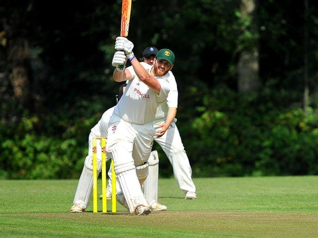 Jethro Menzies hit 72 for Haywards Heath