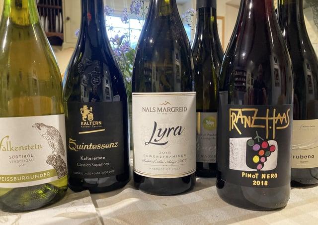 Wines from Alto Adige SUS-210517-140651001