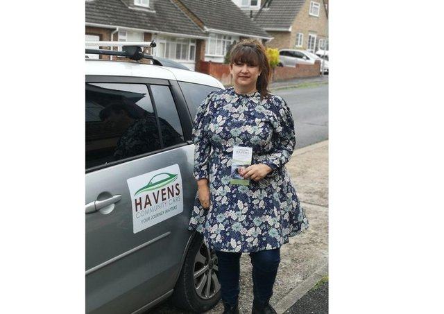 Sarah Lowton from Havens Community Cars