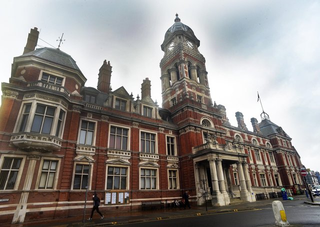 Eastbourne Town Hall (Photo by Jon Rigby) SUS-190425-155116008