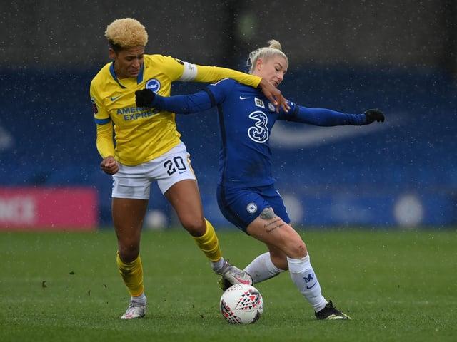Victoria Williams has been a key figure for Brighton this season