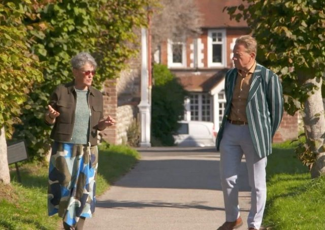 Michael Portillo talks to Steph Fuller, CEO and director of Ditchling Museum of Art + Craft. Picture: BBC