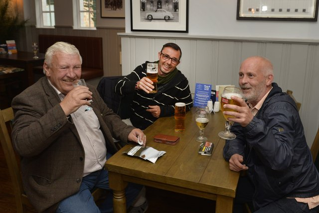 People in Hailsham are enjoying themselves in pubs, restaurants and hotels after the easing of lockdown restrictions (Photo by Jon Rigby) SUS-210517-200826001