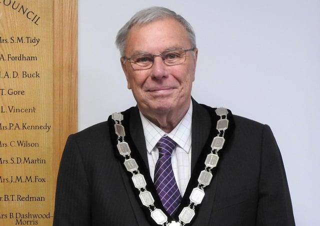 Ron Reed, new Wealden chairman