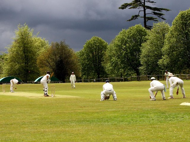 Rain on the way? Buxted Park and Rottingdean were luckier than some in getting a game on