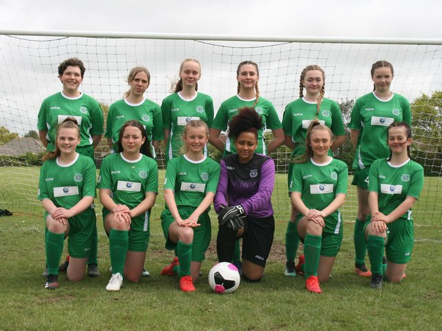 Hailsham United's first girls' team is up and running