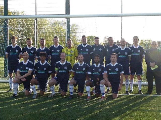 Ringmer AFC's threes / Picture: Andrew Hazelden