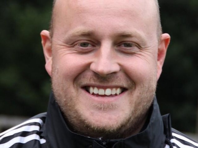 AFC Uckfield Town joint-manager Graeme Mintrim will be stepping down from his role due to other commitments. Picture courtesy of AFC Uckfield Town Football Club