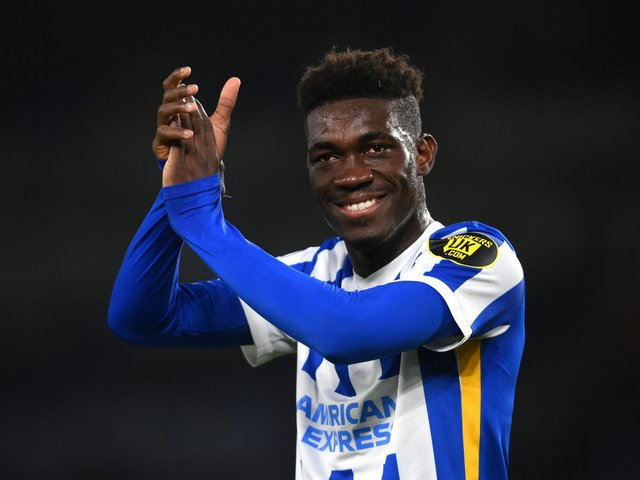 Yves Bissouma has enjoyed an excellent season with Brighton and has been linked with a summer move to Arsenal, among others