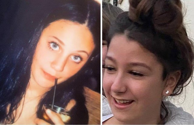 Sofia Salvato and Emmie Hunt, both 12, have been reported missing SUS-210523-115414001