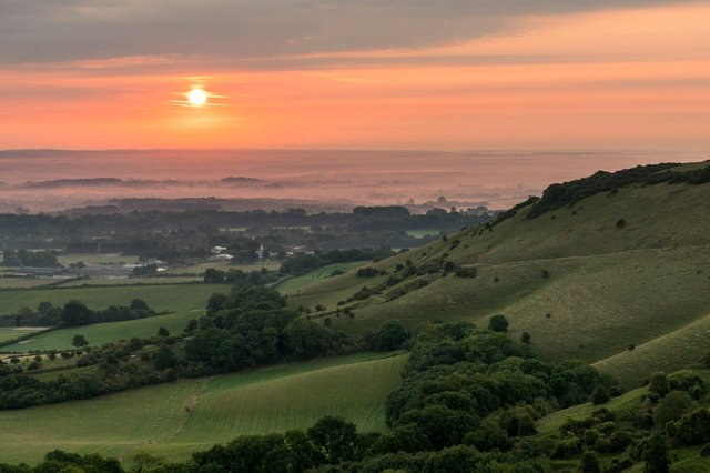 South Downs artists trail Ditchling Beacon SUS-210524-111659001