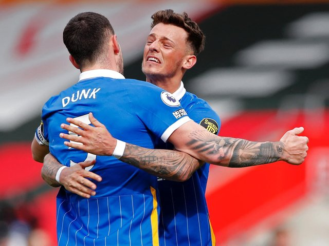 Ben White and Lewis Dunk have formed a formidable defensive partnership this season