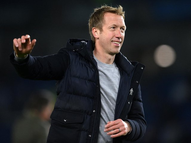 Brighton and Hove Albion head coach Graham Potter was frustrated with his team's points tally of 41