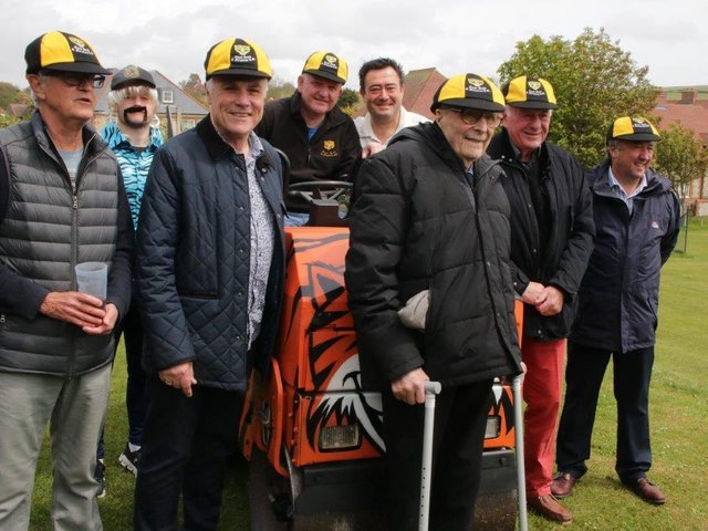 East Dean and Friston CC's six life presidents