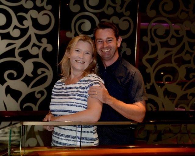 Deborah Blackhurst with her husband Jeff. SUS-210527-134631001