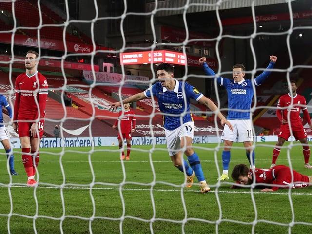 Steven Alzate nets a memorable winner at Anfield