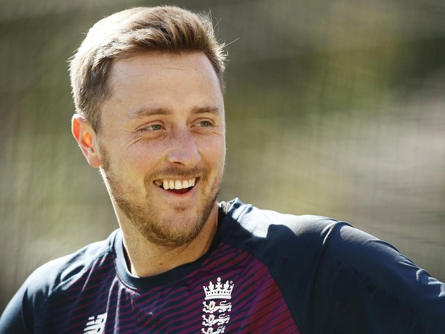 Ollie Robinson has had plenty of experience in and around the England camp / Picture: Getty