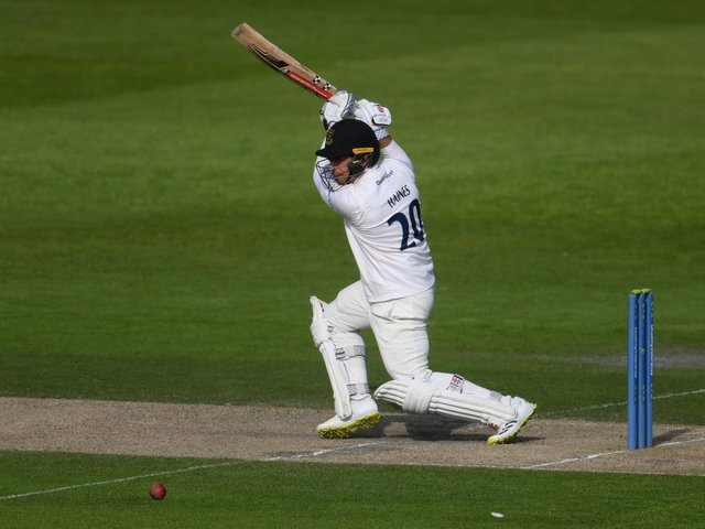 Tom Haines on his way to a ton for Sussex against Northants / Picture: Getty