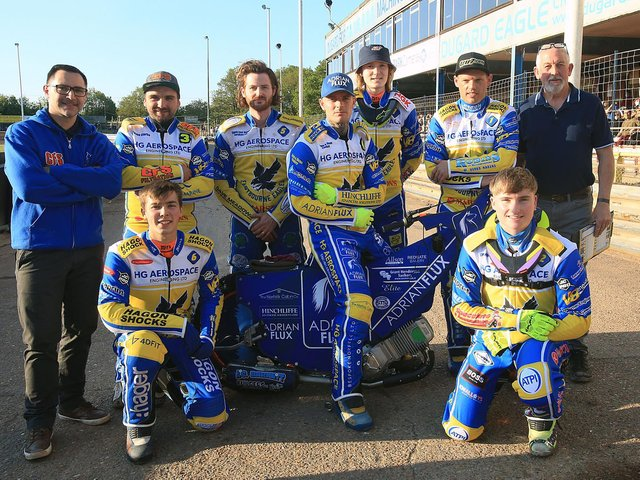 Eastbourne Eagles, 2021 / Picture: Mike Hinves