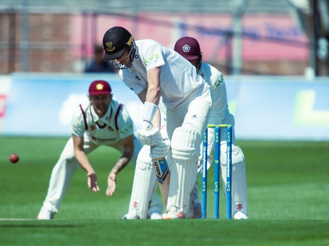 Sussex simply didn't bat for long enough to challenge Northants / Picture: PW Sporting Photography