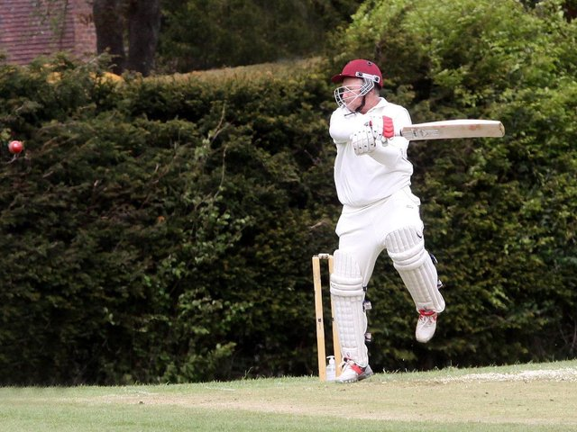 Action from Ringmer v Newick / Picture: Ron Hill