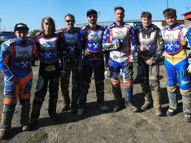 Eastbourne Seagulls at the Kent Royals clash / Picture: Mike Hinves