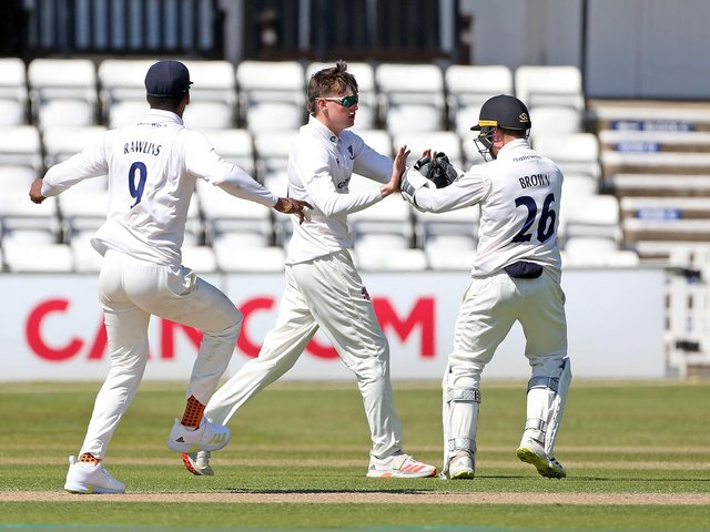 Jack Carson has had a superb start to his Sussex career / Picture: Sussex Cricket