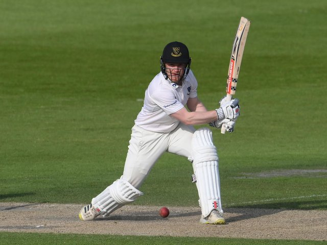 Ben Brown rescued Sussex from 68-4 with his first ton since 2019 / Picture: Getty