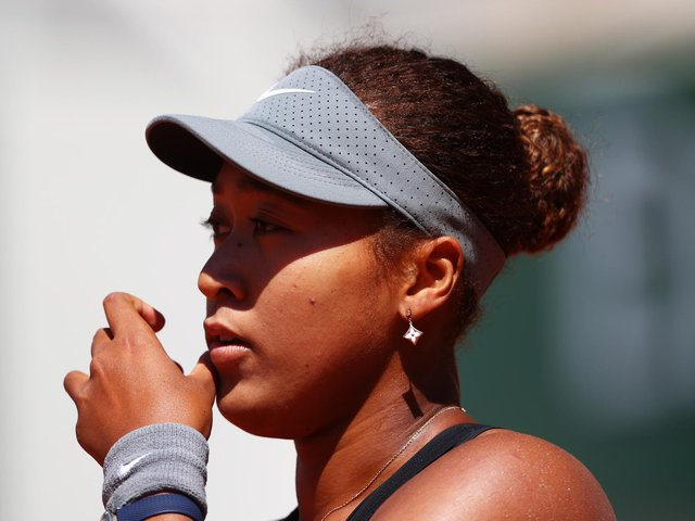 Naomi Osaka has taken a step back from the media spotlight by withdrawing from the French Open / Picture: Getty