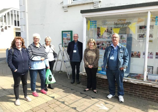 Maria Caulfield MP with members of the local U3A group