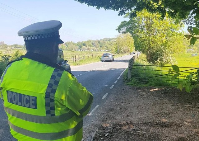 Police carried out the operation from Saturday, May 29 to Monday, May 31. Picture from Sussex Police SUS-210506-115703001