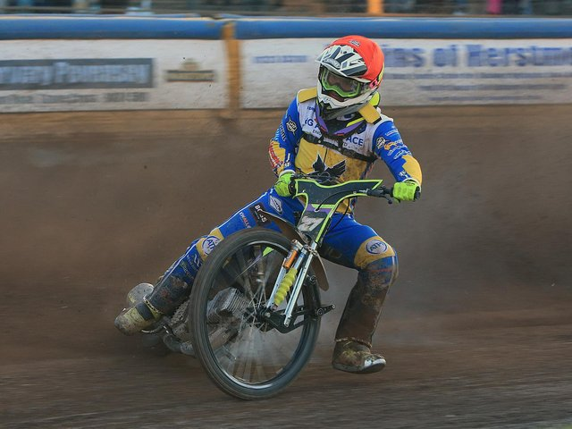 Tom Brennan came good late on at Scunthorpe / Picture: Mike Hinves