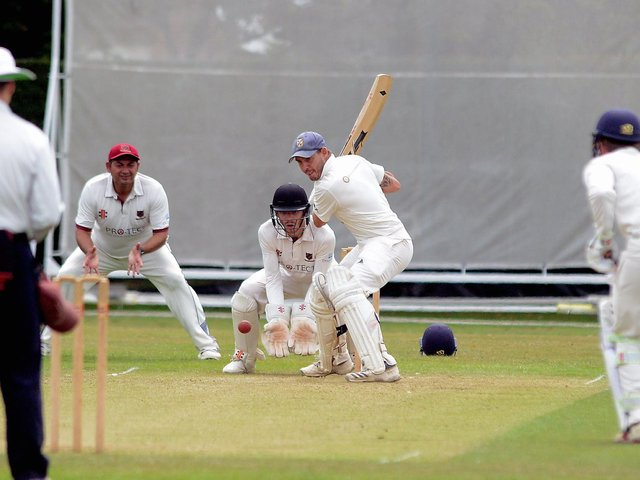 Sean Heather was in the runs again for Middleton