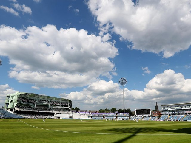 It was a lovely summer scene at Headingley - but the outlook was not so good for Sussex / Picture: Getty