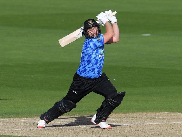 Luke Wright in T20 action