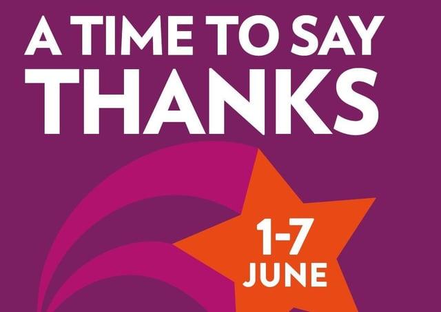 Volunteers Week takes place from June 1 to 7