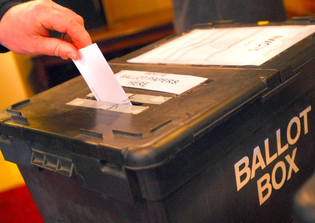 A review of Parliamentary constituencies is underway